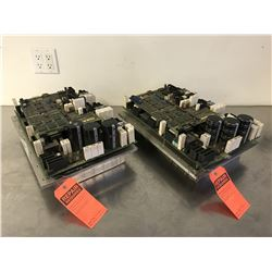 (2) FANUC A06B-6100-H002 SERVO AMPLIFIER *FOR PARTS*