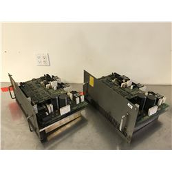 (2) FANUC A06B-6100-H004 SERVO AMPLIFIER *FOR PARTS*
