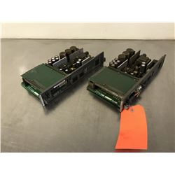 (2) FANUC A16B-2203-0370/07C POWER SUPPLY *FOR PARTS*
