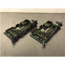 (2) FANUC A16B-3200-0330/08B CPU BOARD *FOR PARTS*