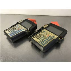 (2) FANUC A05B-2301-C300 & A05B-2301-C301 TEACH PENDANT *FOR PARTS*