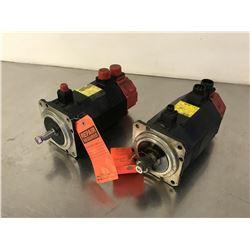 (2) FANUC A06B-0162-B175 AC SERVO MOTOR *FOR PARTS*