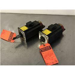 (2) FANUC A06B-0371-B175 AC SERVO MOTOR *FOR PARTS*