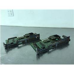 (2) FANUC A16B-3200-0412/03A CIRCUIT BOARD