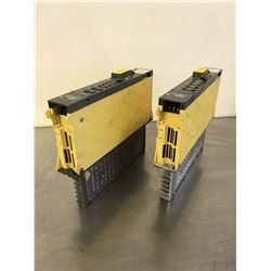 (2) FANUC A06B-6079-H104 G SERVO AMPLIFIER MODULE