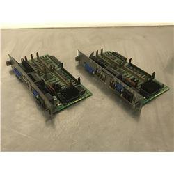 (2) FANUC A16B-2203-0080/02B CONTROL BOARD