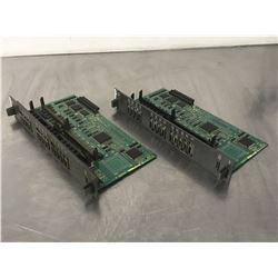(2) FANUC A16B-2203-0031/02B CIRCUIT BOARD