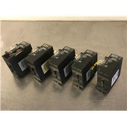 (5) GE FANUC IC693PWR330G POWER SUPPLY MODULE
