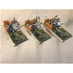 (3) FANUC A20B-2100-0770/06E CIRCUIT BOARD