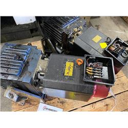 (2) FANUC A06B-0856-B100 AC SPINDLE MOTOR