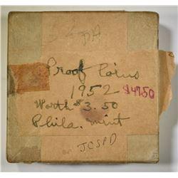 1952 U.S. PROOF SET IN ORIG BOX