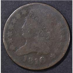 1810 HALF CENT  GOOD