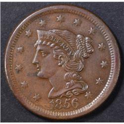 1856 LARGE CENT  BU