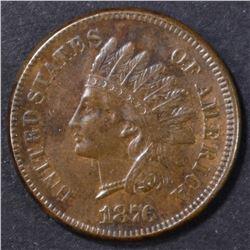 1876 INDIAN CENT  AU
