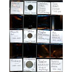 World Coinage Lot;  includes German coinage.  includes 3 various coins - Saxony-Anhalt.  Allemagne S