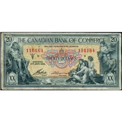 The Canadian Bank of Commerce;  1935 $20 #116164  CH-75-18-10, BCS F18.