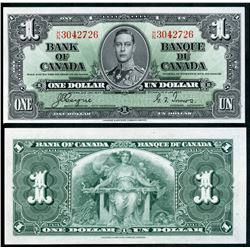 1937 $1 BC21d #HN3042726 & $10 BC-24b #KD0310880. Lot of 2 notes both crisp.