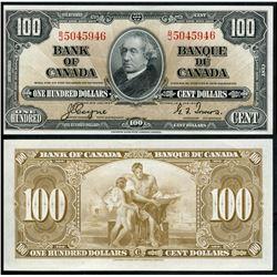 1937 $100 BC-27c #BJ5045946, EF+.