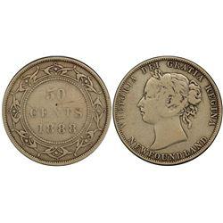 Nfld 1888 50¢ PCGS Very Fine-20.