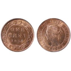1888 1¢ PGCS Choice Mint State-64RB.  Strong lustre.