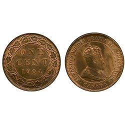 1904 1¢ ICCS Choice Mint State-63RB.
