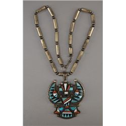 NAVAJO INDIAN NECKLACE (BEN LIVINGSTON)
