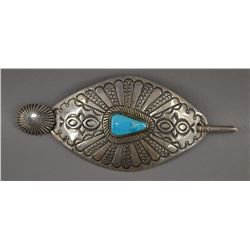 NAVAJO INDIAN HAIR PIN/BARRETT (JENNIE BLACKCOAT)