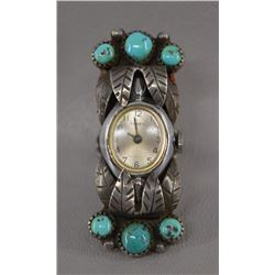 NAVAJO INDIAN WATCH-RING