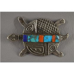 SANTO DOMINGO INDIAN PIN PENDANT (HAROLD LOVATO)