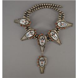 NAVAJO INDIAN NECKLACE (RHB)