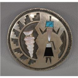 NAVAJO INDIAN PIN PENDANT (J)