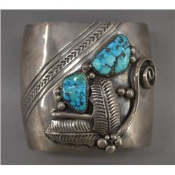 NAVAJO INDIAN BRACELET (ORVILLE TSINNIE)