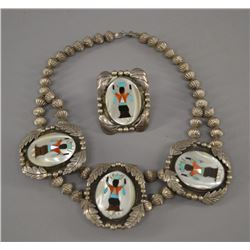 ZUNI INDIAN NECKLACE & RING