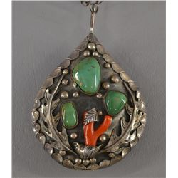 NAVAJO INDIAN PENDENT (TOM WILLETO)