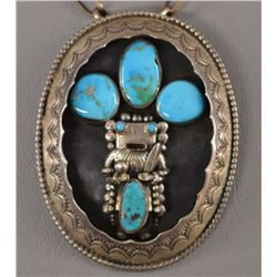 NAVAJO INDIAN NECKLACE (PHILLIP LONG)