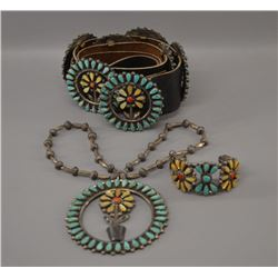 NAVAJO INDIAN JEWELRY SET