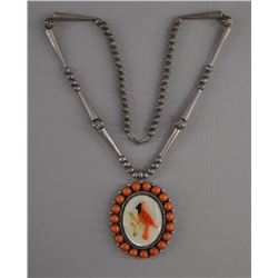 NAVAJO INDIAN NECKLACE (MARY MARIE YAZZIE)