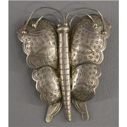 NAVAJO INDIAN BUTTERFLY PIN/PENDENT