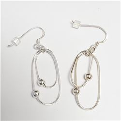 Silver Earrings, Suggested Retail Value $60