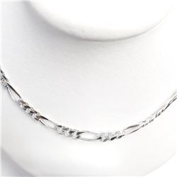 "Silver 18"" 23.05G Necklace, Suggested Retail Value $440"