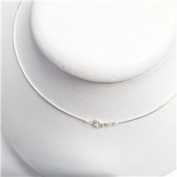 "Silver 18"" Necklace, Suggested Retail Value $80"