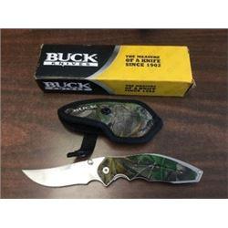 Buck Knives Camo Pocket Knife