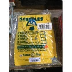 Hercules Flame Resistant PVC Rainsuit - Size 2XL