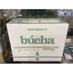 Case of Bucha Grapefruit Organic Kombucha Tea (12 x 16oz)