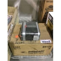 Case of 6EvereadySuper Heavy Duty Lantern 6V Batteries