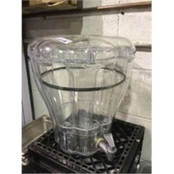 Clear Plastic Beverage Dispenser