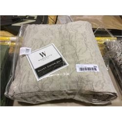 WamsuttaKing Size Duvet Cover Set