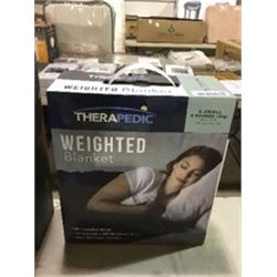 "TherapedicSmall Weighted Blanket (40"" x 50"")"