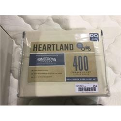 Heartland Dual Queen Size Sheet Set