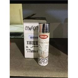 Case of Krylon Chrome Finish Aerosol Spray (6 x 227g)